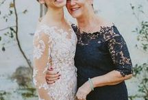 Of Marvellous Mothers Of The Bride & Groom / Modern and elegant dresses and two piece outfits for the mother of the bride and mother of the groom, from knee length to gown length, with sleeves and jackets. Be inspired by these ideas for the most wonderful mothers in your life.