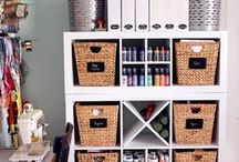 Apartment Organization / For more storage hacks and apartment organization ideas, visit http://www.forrent.com/blog