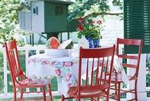 front porches. / by Caroline Speaks