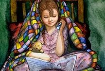 Find time to read / I do enjoy a good book.  These are some that sound interesting to me.  Books written for children are always worthwhile and safe. / by Cherrie Staley