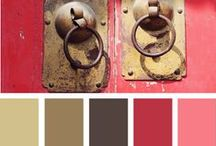 Color my world / When creating cards or crocheting, I love the help the paint combos are.  I ♥ color, all of them. / by Cherrie Staley