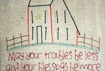 Embroidery / by Cherrie Staley