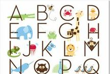 ABC~123 / Love of numbers and the alphabet. / by Cherrie Staley