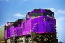 All aboard ##### (: / Trains, trains, tracks, tracks and more ###### / by Cherrie Staley