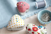pincushions & needle case