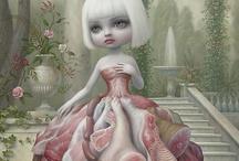 Illustration/Paintings / Interesting and inspiring illustratiors/Painters