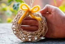 Homeschool: Handcrafts / Simple handcraft ideas for kids! Perfect for active hands and multi-age homeschool classrooms.
