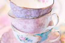 High Tea Darling / Tea time - beautiful, vintage, delicate, pretty, classy, feminine, floral, inspirational, captivating, elegant - party!