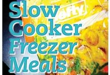 Crock Pot Slow Cooker Meals / by Rachel Smitherman