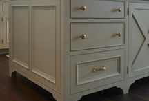 Painted Kitchen Cabinets / by Michele Crocco