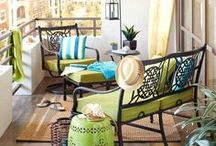 Balconies & Patios / For more balcony and patio inspiration for your apartment, visit https://www.forrent.com/blog/