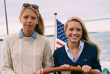 Preppy Love / I can't help but love these things.  I grew up in Connecticut, spent lots of time on my grandparent's house boat and went to Cape Cod for summer vacations.  I am, deep down, a northeast prep.