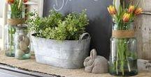 Spring / For more spring season tablescapes and decor, visit https://www.forrent.com/blog/