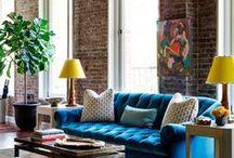 Living Rooms / For more living room ideas, like decor and trending styles, visit https://www.forrent.com/blog/