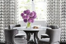 """Dining Spaces / Dining """"room"""" ideas and styles that will fit your apartment size."""