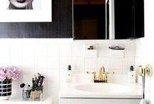 Bathrooms / For more bathroom ideas, like storage hacks and other handy solutions, visit https://www.forrent.com/blog/
