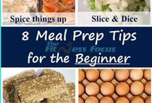 Meal Prep Ideas / Quick and easy ways to meal prep. Meal prepping 101.