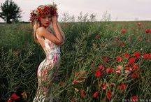 Evening dresses SS2016 by OKSANA MUKHA