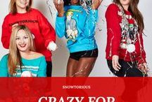 Fun and Unique Ugly Christmas Sweaters / Snowtorious offers the most unique and fun men's and women's ugly Christmas sweaters with swagger. Visit Snowtorious.net. Get 15% off your purchase by using SAVE15 at checkout (Expires 11/16/17).