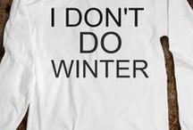 Winter Type Stuff