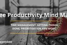 Productivity Mind Maps / Mind maps from the free Biggerplate mind map library, focusing on Productivity. See the full Productivity mind map library here: http://www.biggerplate.com/business-mindmaps/22/productivity