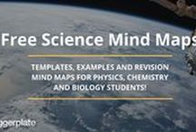Science Mind Maps / Some great science mind maps, for students and teachers, from the free Biggerplate mind map library. See the full Science mind map library here: http://www.biggerplate.com/education-mindmaps/40/science