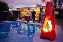 Modern Fireplaces / Collection of the coolest modern fireplaces