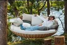 Hanging Chairs, Beds, Lounges
