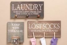 Laundry Room / Laundry Schedule SORT - Today  WASH - Later FOLD - Eventually  IRON - HA! HA! HA! / by Sheryl Clay