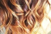 Lovely Locks / Hair styles, hair cuts, short hair, long hair, curly hair, angled bob, highlights, ombre, hair care, hair tips.