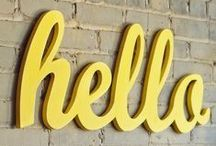 Hey! Hi There! Hello!