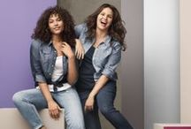 Denim Studio / Nothing says street chic like denim in different styles and fits! #Lane Bryant  / by Lane Bryant