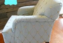 My Layered Life / These are photos from some of my design projects- furniture refinishing, organizing and decorating.