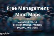 Management Mind Maps / Mind maps from the free Biggerplate library, focusing on Management. See the full Management mind map library here: http://www.biggerplate.com/business-mindmaps/17/management