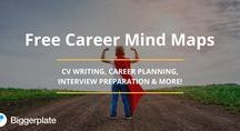 Career Mind Maps / Mind maps, from the free Biggerplate library, focusing on Careers and Career Development. See the full Career library here: http://www.biggerplate.com/business-mindmaps/5/career