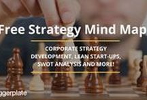Strategy Mind Maps / Mind maps, from the free Biggerplate mind map library, focusing on Strategy. Check out the full Strategy mind map library here: http://www.biggerplate.com/business-mindmaps/25/strategy