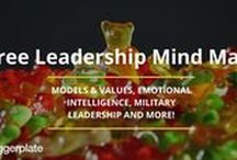 Leadership Mind Maps / Mind maps, from the free Biggerplate library, focusing on Leadership. Check out the full Leadership library here: http://www.biggerplate.com/business-mindmaps/15/leadership