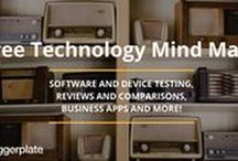 Technology Mind Maps / Mind maps, from the free Biggerplate mind map library, focusing on Technology. Check out the full Technology mind map library here: http://www.biggerplate.com/business-mindmaps/26/technology