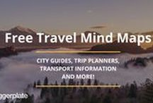 Travel Mind Maps / Mind maps centred around all things Travel! See the full, FREE Travel mind map library on Biggerplate: http://www.biggerplate.com/general-mindmaps/56/travel