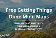 """Getting Things Done"" Mind Maps / Mind maps from the free Biggerplate mind map library, centred around ""Getting Things Done"". See the full Getting Things Done library here: http://www.biggerplate.com/business-mindmaps/11/getting-things-done"