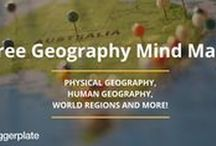 Geography Mind Maps / A selection of Geography mind maps from the free mind library, Biggerplate.com. See the full library here: http://www.biggerplate.com/education-mindmaps/33/geography