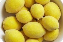 Lemon / For the love of LEMON. Nothing says Spring or Summer like lemon. Lemon Bars, Lemonade, Lemon Cocktails, Home Decor, Fashion and the color yellow! We love LEMON.