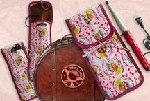 travel bags / by DramaqueenSeams