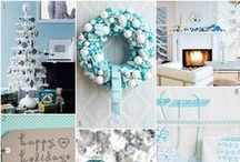 Turquoise Christmas / Turquoise // Teal // Blue // Aqua Christmasy goodness!