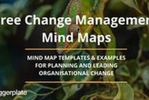 Change Management Mind Maps / Check out this selection of change management mind maps from the Change Management Mind Map library on Biggerplate.com. Click here to see the full library: http://www.biggerplate.com/business-mindmaps/6/change-management