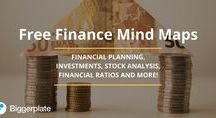 Finance Mind Maps / Check out these Finance mind maps from the free Finance Mind Map Library on Biggerplate.com. Click here to see the full library: http://www.biggerplate.com/business-mindmaps/10/finance