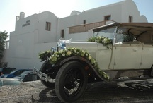 A beautiful wedding venue in Santorini