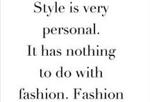 MY STYLE / by Cathy Rexroad