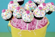 marshmallows/cake pops / by Rose Yarko-Lazzeri