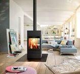 Kominki modułowe / #Kominki z modułami # kominki z półkami na drewno #kominki na drewno #designerskie kominki #kominki wolnostojące